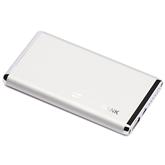 飞毛腿(SCUD) X6 移动电源 6000毫安 亮银色
