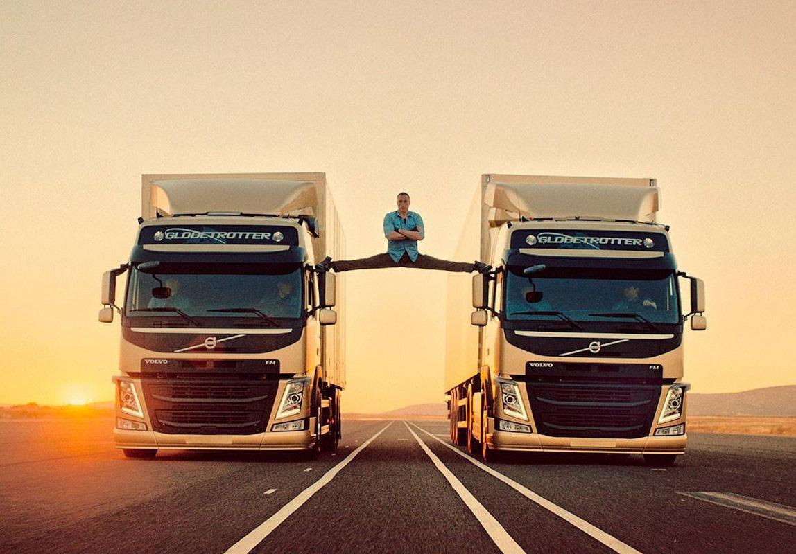 论卡车广告我只服沃尔沃 脑洞大开深入身心