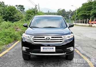 2012款丰田汉兰达3.5 四驱 精英版 7座