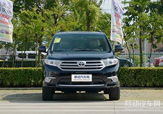2012款丰田汉兰达2.7 两驱 豪华版 7座