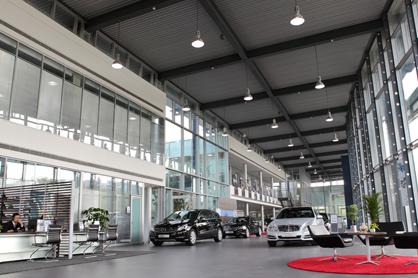 四川华星锦业汽车销售服务有限公司武侯分公司展厅