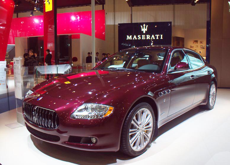 成都车展:高性能豪华轿车-玛莎拉蒂总裁