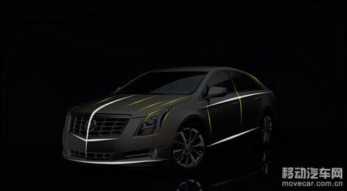 垂直尾灯+横向高位刹车灯是凯迪拉克尾部的统一辨识特征.