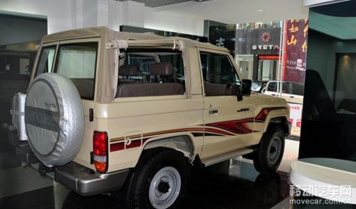 坚持己我 真正的越野丰田lc71敞篷版