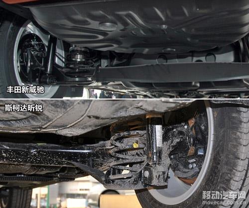 威驰底盘钢架结构图