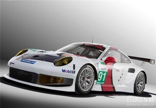新款保时捷911 rsr赛车装备了排量为4.0升的6缸水平对置自高清图片