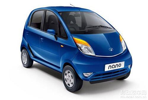 最便宜汽车 印度塔塔新款Nano官图高清图片