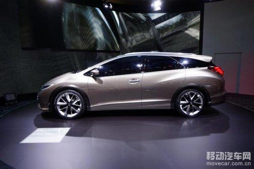 本田思域旅行车性能版 或法兰克福车展亮相图片