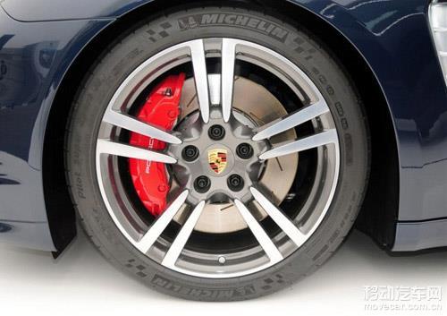 保时捷2014款panamera轮胎 高清图片