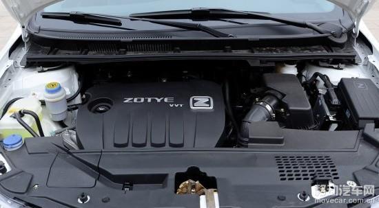 2014款众泰z300发动机