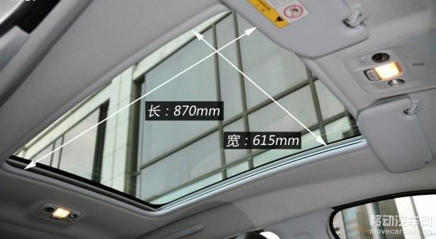 东风标致2008全景天窗 高清图片