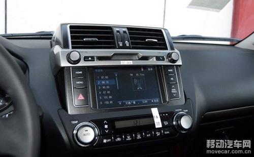 2014款丰田普拉多 中控台