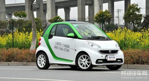 smart fortwo电动版 车身尺寸