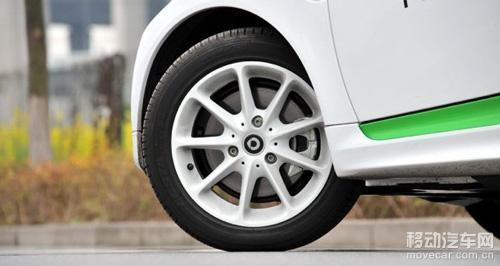 2014款smart fortwo电动版 轮胎