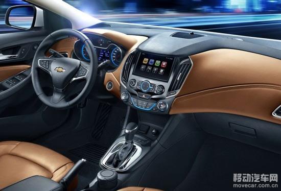 新车配备了8英寸多点触控屏,并搭载了雪佛兰MyLink 2.0智能车载互联系统。此外新车还采用了大量的镀铬饰条,空调旋钮带有液晶温度显示。 动力方面,国产新一代雪佛兰科鲁兹先期将提供两种动力可选,包括1.5L自然吸气发动机(114马力)和1.4T涡轮增压发动机(150马力),传动方面,与1.