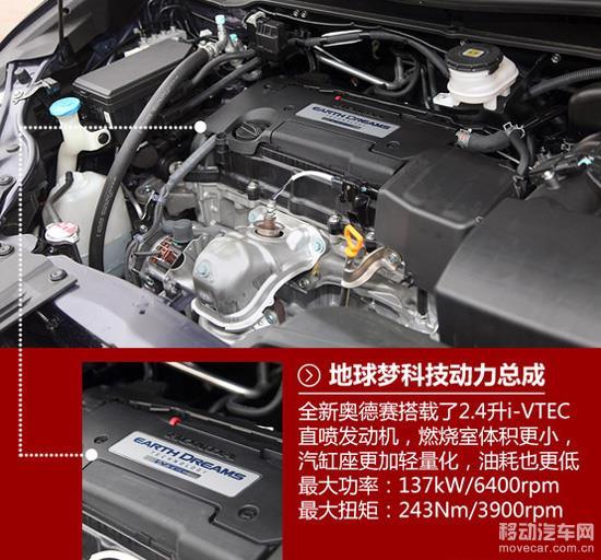 全新本田奥德赛的发动机图片