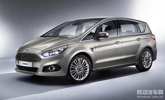 福特新一代s-max的外观基本延续了s-max概念车的造型,新车高清图片