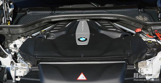 宝马x6的发动机