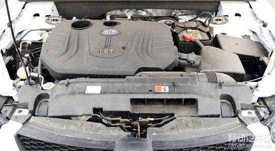 8l涡轮增压发动机,最大功率为180马力(132千瓦)/6000-6500rpm,最大