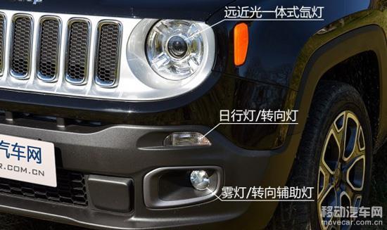 jeep自由侠 车灯