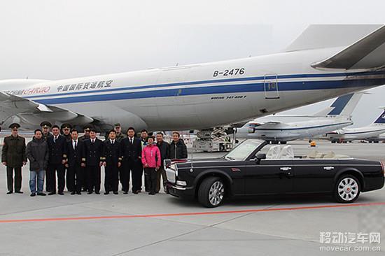 史上最贵汽车红旗l5敞篷车 中国赠白俄罗斯高清图片