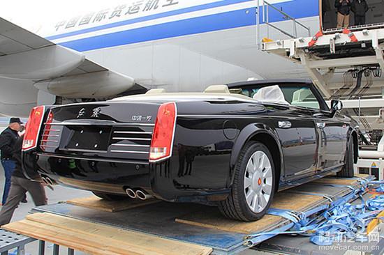 俄罗斯的这两辆独家红旗l5敞篷车是中国汽车制造史上最昂贵的高清图片