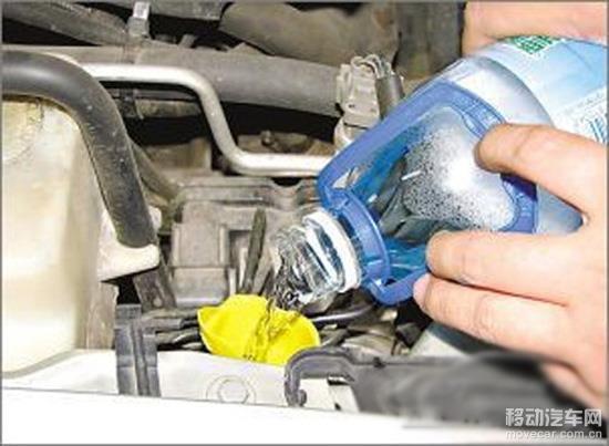 【移动汽车网用车用品】  玻璃水绝对是每一位开车朋友都要接触的