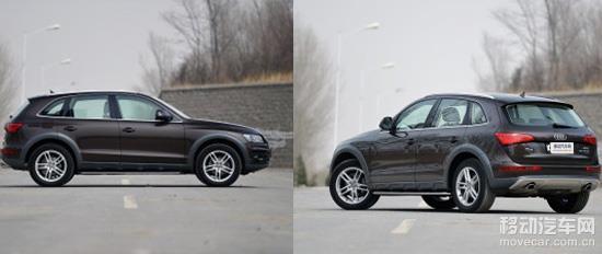 2015款奥迪Q5车型外观
