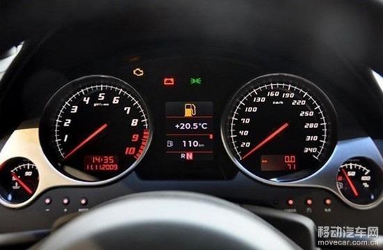汽车仪表盘指示灯高清图片
