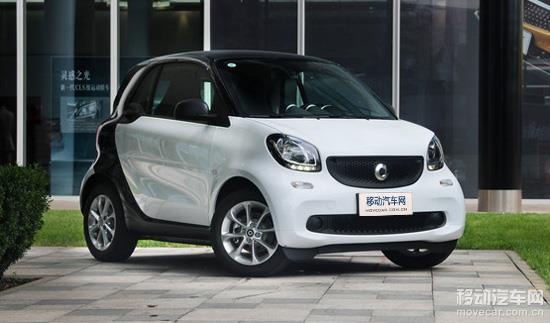 smart fortwo新增两款车型 售价15.60-17.60万元