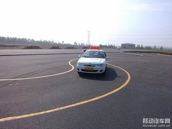 二 场地 考试曲线行驶 S线 必过技巧图解