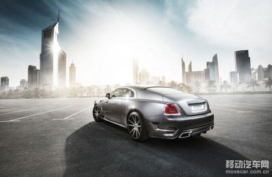 design提供了一个定制的22英寸和23英寸规格的轮毂为劳斯莱斯幽灵汽车