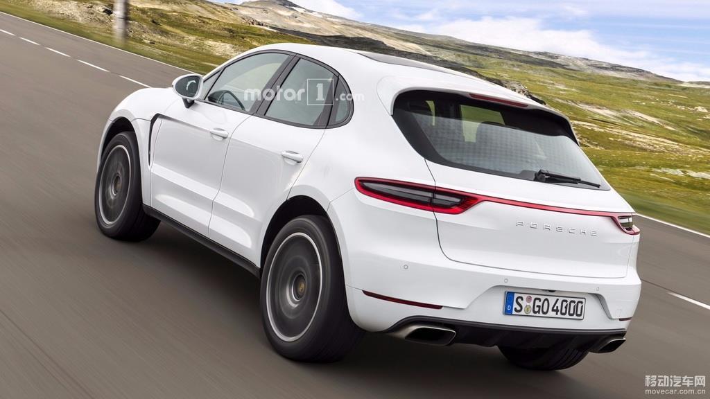 丰富SUV产品线 保时捷新紧凑型SUV Majun假想图