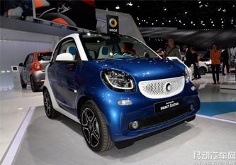 新一代smart fortwo/forfour2015年引入中国