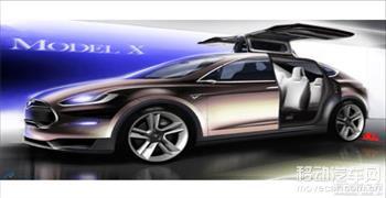 特斯拉Model X 60D国内市场售价正式公布:75.44万起