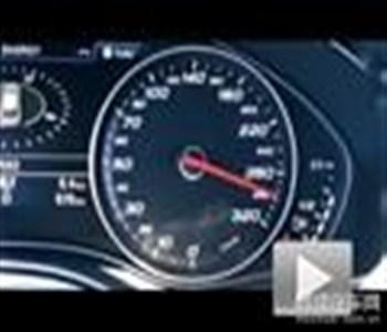 直奔290km/h! 奥迪RS 6旅行版动态展示